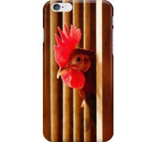 Old English Game Rooster Pen iPhone Case/Skin