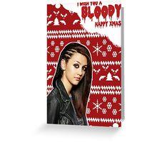 HTGAWM - Bloody good Christmas [Rebecca] Greeting Card