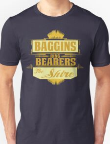Baggins ring bearers Unisex T-Shirt
