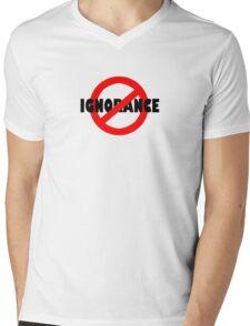 No Ignorance Allowed Mens V-Neck T-Shirt