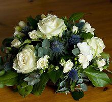 Celebration Flower Arrangement by Sue Robinson