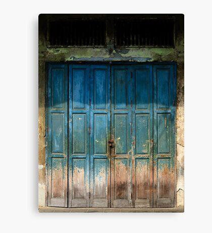 Old China Door Canvas Print