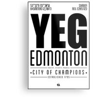 YEG - Edmonton Metal Print
