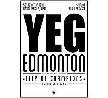 YEG - Edmonton Photographic Print