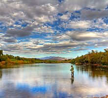 The Perfect Fishing Spot by Sue  Cullumber