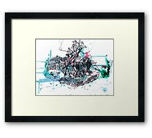The Cat's Cradle Framed Print