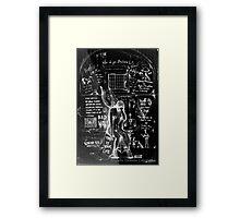 Jailbird  Framed Print