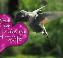 Your Love is the Nectar of my Life! by michaelasamples