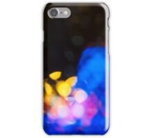 City Night defocused urban abstract  iPhone Case/Skin