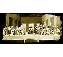 Last Supper Smash Bros Photographic Print