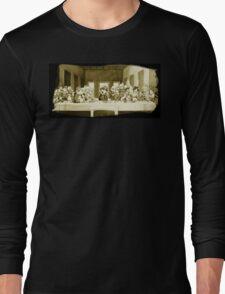 Last Supper Smash Bros Long Sleeve T-Shirt