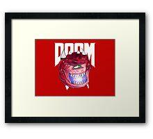 Cacodemon - Doom  Framed Print