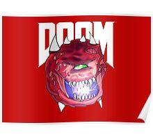 Cacodemon - Doom  Poster