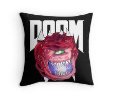 Cacodemon - Doom  Throw Pillow