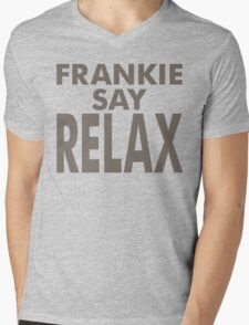 FRANKIE SAY RELAX Mens V-Neck T-Shirt