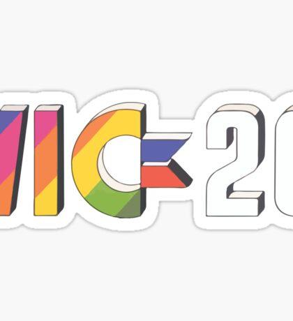 Vic 20 Sticker
