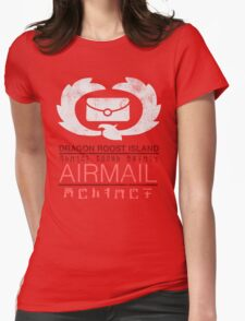 Zelda Wind Waker - Dragon Roost Island Airmail Womens Fitted T-Shirt