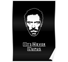 It's never lupus Poster