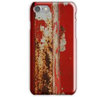 Red War iPhone Case/Skin