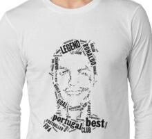 Cristiano Ronaldo Word Map Long Sleeve T-Shirt