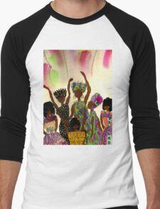 Tapestry Men's Baseball ¾ T-Shirt
