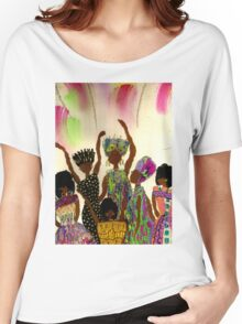 Tapestry Women's Relaxed Fit T-Shirt