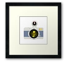 toy camera Framed Print