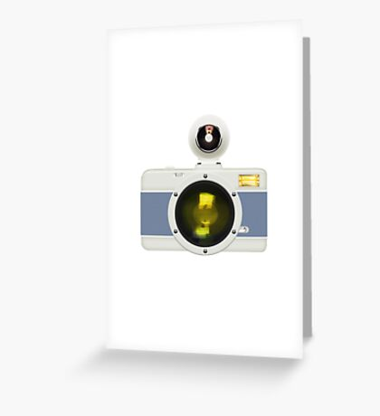 toy camera Greeting Card