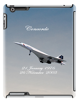Concorde iPad by Catherine Hamilton-Veal  ©