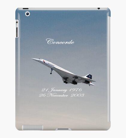 Concorde iPad iPad Case/Skin
