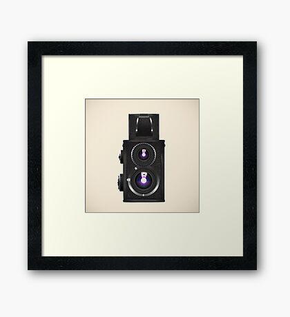 toy camera Framed Print