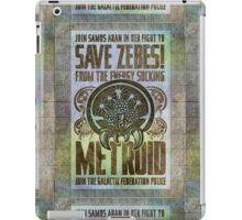 Metroid Propaganda Geek Line Artly  iPad Case/Skin