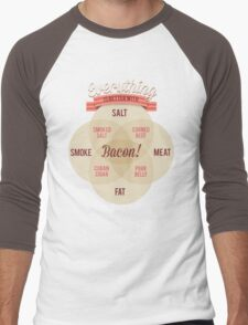 Everything is better with Bacon Men's Baseball ¾ T-Shirt