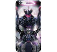 Kawrou Evangelion Anime Tra Digital Painting  iPhone Case/Skin