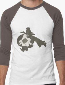 PKMN Silhouette - Duskull Family Men's Baseball ¾ T-Shirt