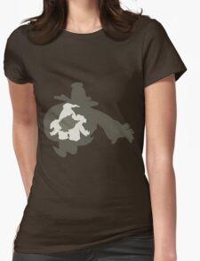 PKMN Silhouette - Duskull Family Womens Fitted T-Shirt