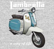 Lambretta - a way of life by Tony  Newland