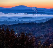 Sunup On the Blue Ridge by Kathy Weaver