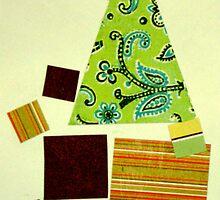 Argyle Christmas tree by gehlhausenn