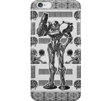 Metroid Samus Aran Geek Line Artly iPhone Case/Skin