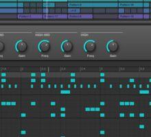 Music Production Software Screenshot Sticker