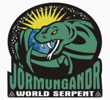 Jörmungandr - The World Serpent Kids Clothes