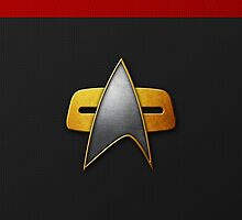 Federation (Command) DS9/VOY iPhone Case by Mattwo