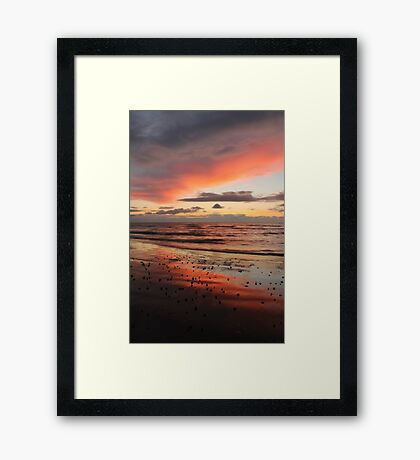 Sunset Cumbria Framed Print