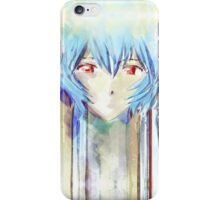 Ayanami Rei Evangelion Anime Tra Digital Painting  iPhone Case/Skin