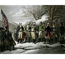 Washington and His Generals Photographic Print
