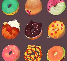 donuts by tsunamidere