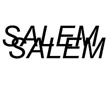 SALEM black text by ultratrash