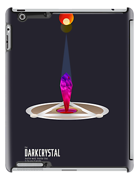 Dark Crystal Minimal Vector Movie Poster by barrettbiggers