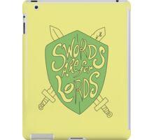 Swords iPad Case/Skin